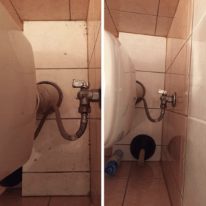 Уборка в туалете