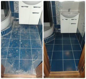 уборка ванны после ремонта