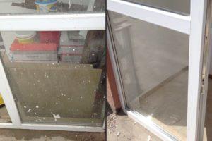 помыть окно после ремонта