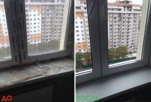 Мойка оконо в СПб