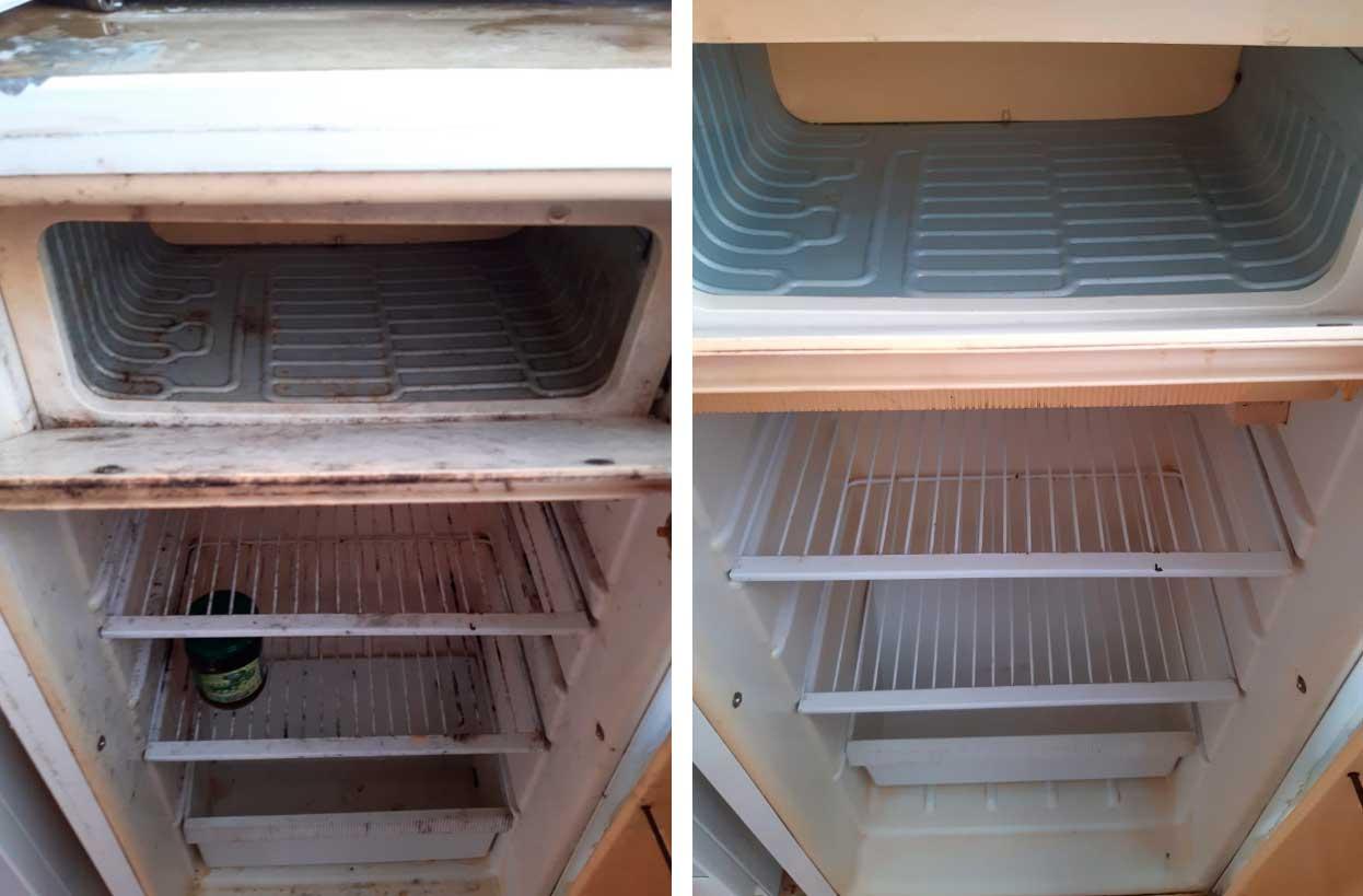 генеральная уборка холодильника