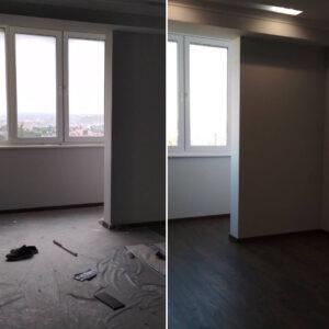 Уборка однакомнатной квартиры