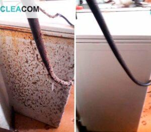 Уборка грязной квартиры