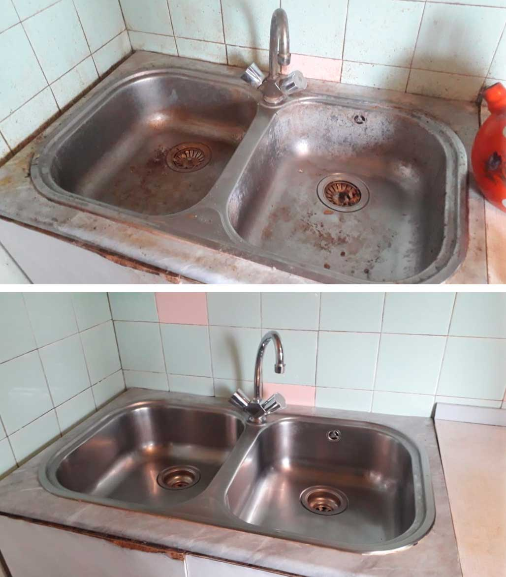 уборка кухонного гарнитура