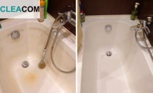 Мытье ванной комнаты