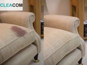 Удаление пятна с дивана