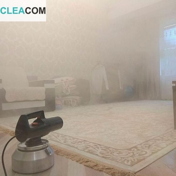 Обработка сухим туманом