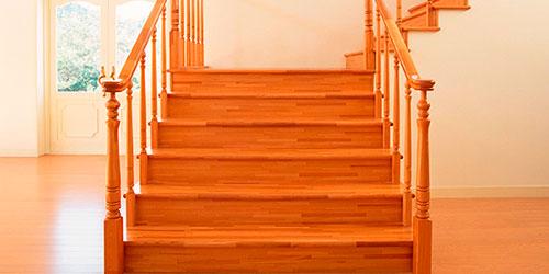 циклевка лестницы