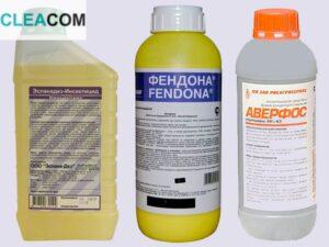 Дезинфекция химией