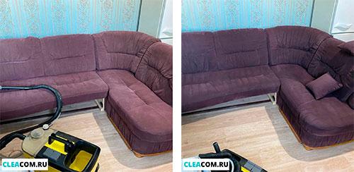 Химчистка дивана
