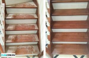 Уборка лестницы
