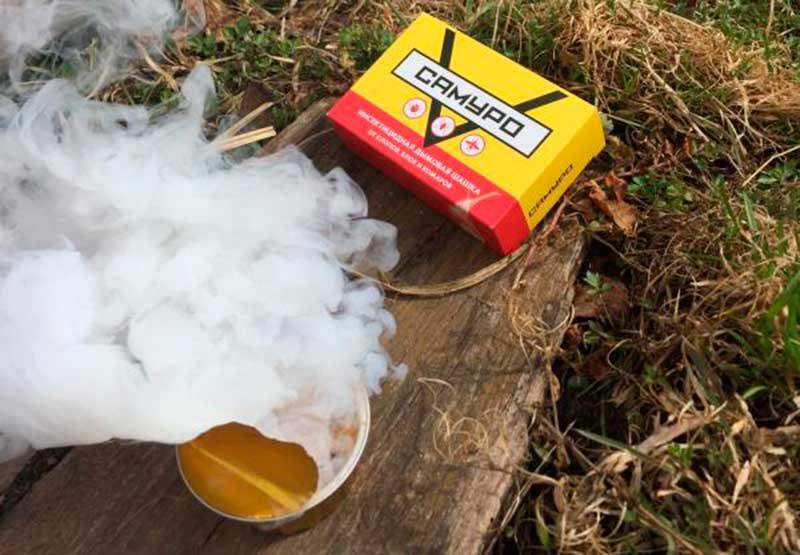 Дымовые шашки от клопов