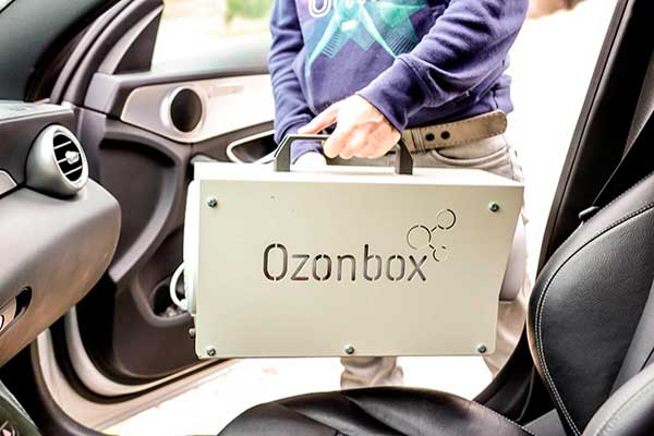 Озонирование салона автомобиля