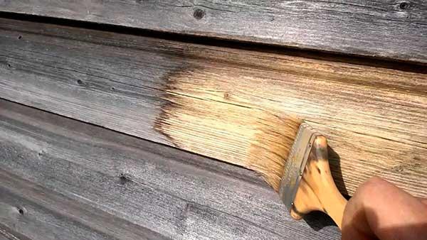 обработка дерева от плесени
